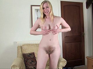 Hairy blondie