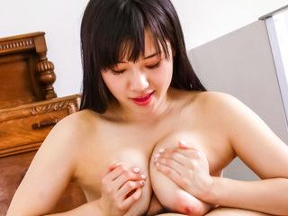 Cock hungry Azusa Nagasawa licks and sucks on a hard dick..