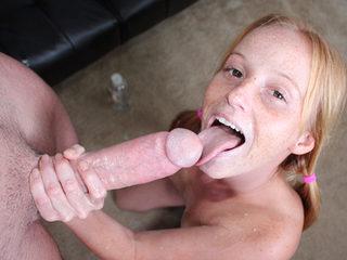 Baste Her Teen Face!
